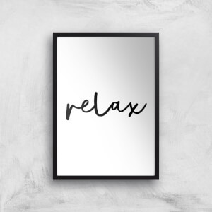 The Motivated Type Relax Giclee Art Print