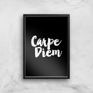 The Motivated Type Carpe Diem Giclee Art Print