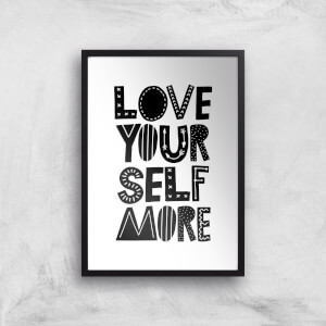 The Motivated Type Love Yourself More Giclee Art Print