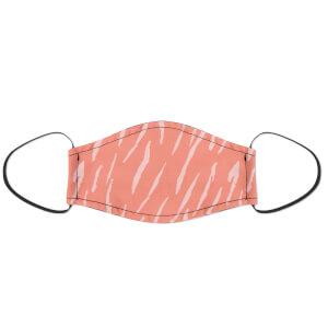 Pink Stripes Face Mask