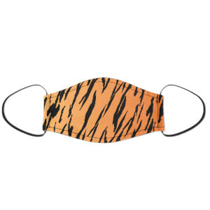 Tiger Print Face Mask