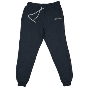 Looney Tunes That's All Folks Embroidered Kids' Piped Joggers - Navy