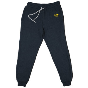 DC Batman Logo Kids' Piped Joggers - Navy