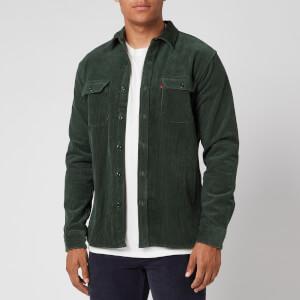 Levi's Men's Jackson Worker Overshirt - Python Green