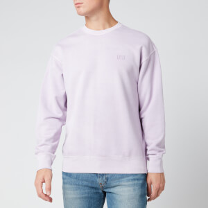 Levi's Men's Authentic Logo Garment Dye Sweatshirt - Lavender Frost