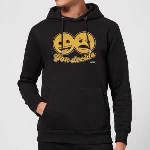 Emoji You Decide Hoodie - Black