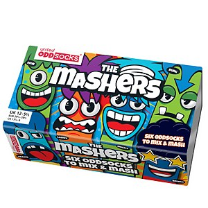 United Oddsocks Kids' - The Mashers Socks Gift Set