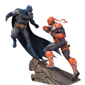 DC Collectibles DC Comics Batman Vs. Deathstroke Battle Statue