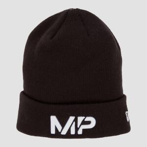MP Cuff Knitted Beanie - Black/White