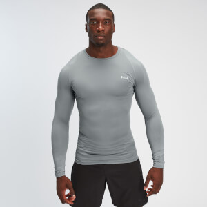 MP Men's Base Layer Long Sleeve T-Shirt - Storm