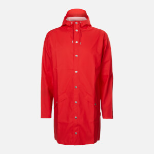 RAINS Long Jacket - Red