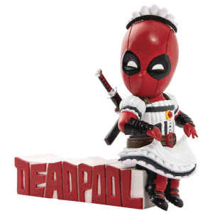 Beast Kingdom Marvel Comics Deadpool Maid Outfit Figure