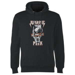 Sudadera capucha Jurassic Park Rex Punk - Unisex - Negro