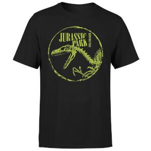 T-shirt Jurassic Park Skell - Noir - Unisexe