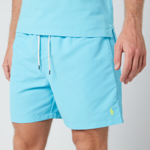 Polo Ralph Lauren Men's Traveller Swim Shorts - French Turquoise
