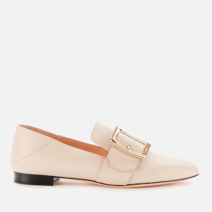 Bally Women's Janelle Leather Loafers - Poudre