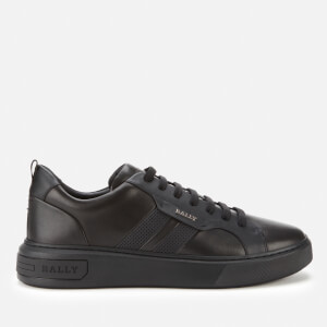 Bally Men's Maxim Leather Trainers - Black