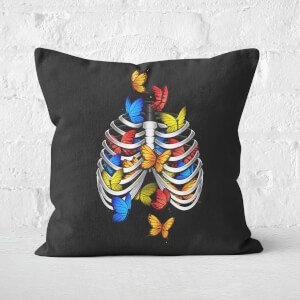 Butterflies In My Stomach Square Cushion