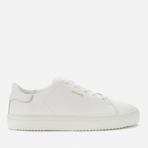 Axel Arigato Kids' Clean 90 Leather Cupsole Trainers - White