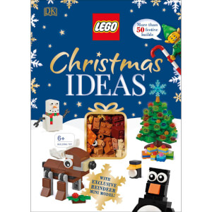 DK Books LEGO Christmas Ideas Hardback