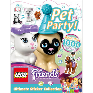 DK Books LEGO Friends Pet Party! Ultimate Sticker Collection Paperback