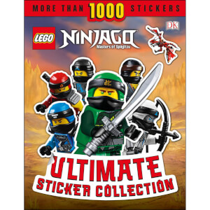 DK Books LEGO NINJAGO Ultimate Sticker Collection Paperback