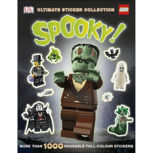 DK Books LEGO Spooky! Ultimate Sticker Collection Paperback