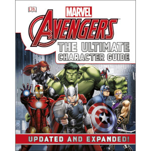 DK Books Marvel The Avengers The Ultimate Character Guide Hardback