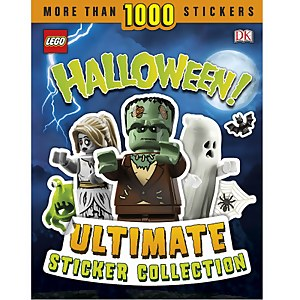 DK Books LEGO Halloween! Ultimate Sticker Collection Paperback