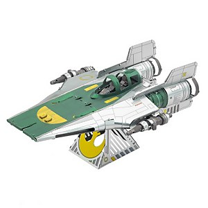 Star Wars Episode 9 Metal Earth 3D Construction Kit - Resistance A-Wing Fighter