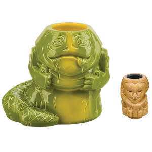 Beeline Creative Star Wars Jabba 40 oz. Geeki Tikis Mug with Bib Fortuna Muglet