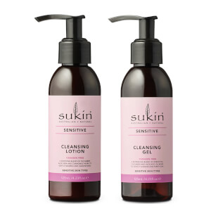 Sukin Sensitive Cleansing Lotion / Sensitive Cleansing Gel