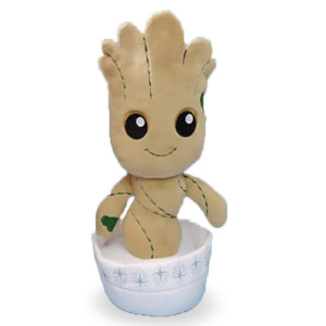 Kidrobot Marvel Guardians of the Galaxy Potted Baby Groot Plush