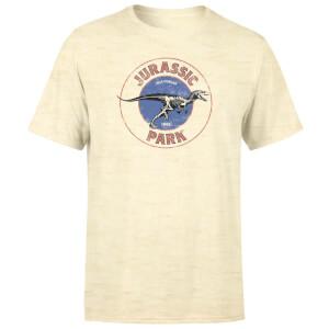 T-shirt Jurassic Park Jurassic Target Vintage - Blanc délavé - Unisexe