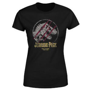 T-shirt Jurassic Park Lost Control - Noir - Femme
