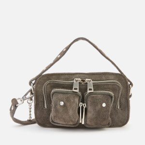 Núnoo Women's Helena Suede Cross Body Bag - Grey