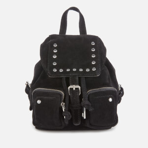 Núnoo Women's Sofia Mini Suede Bag - Black