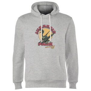 Jurassic Park Winged Threat Hoodie - Grey