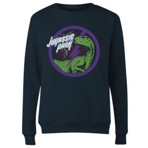 Sweat-shirt Jurassic Park Raptor Bolt - Bleu Marine - Femme