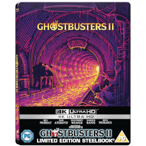 GhostBusters II (1989) - Zavvi Exclusive 4K Ultra HD Steelbook