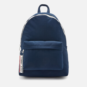 Tommy Jeans Men's Logo Tape Backpack - Navy