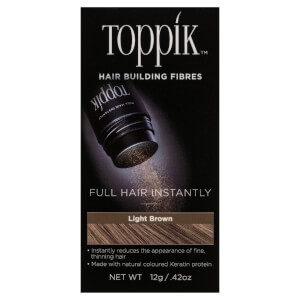 Toppik Hair Building Fibres Light Brown 12g