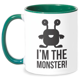 I'm The Monster Mug - White/Green