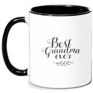 Best Grandma Ever Mug - White/Black