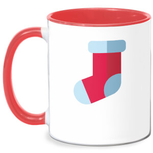 Well Hung Mug - White/Red