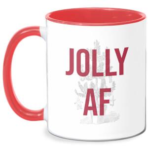 Jolly AF Mug - White/Red