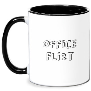 Office Flirt Mug - White/Black