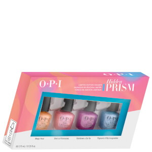 OPI Hidden Prism Limited Edition Nail Polish Gift Set, Mini 4 Pack (3.75ml x 4)