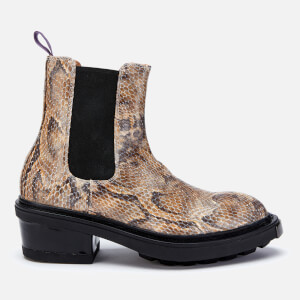 Eytys Nikita Leather Python Print Chelsea Boots - Multi