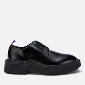 Eytys Men's Alexis Leather Derby Shoes - Black